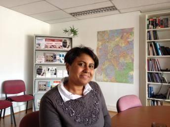 Juliana Wahlgren atua na Rede Europeia contra o Racismo encaminhando propostas às instituições europeias, em Bruxelas.