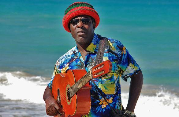 Um musico Jamaicano