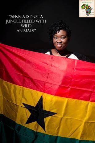 """""""A África não é uma selva cheia de animais selvagens"""", diz outra imagem"""
