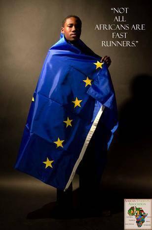 """""""Nem todos os africanos são corredores velozes"""", diz a mensagem"""