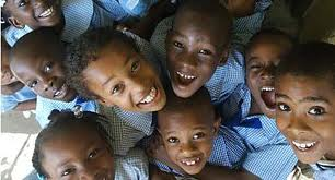 Crianças Jamaicanas