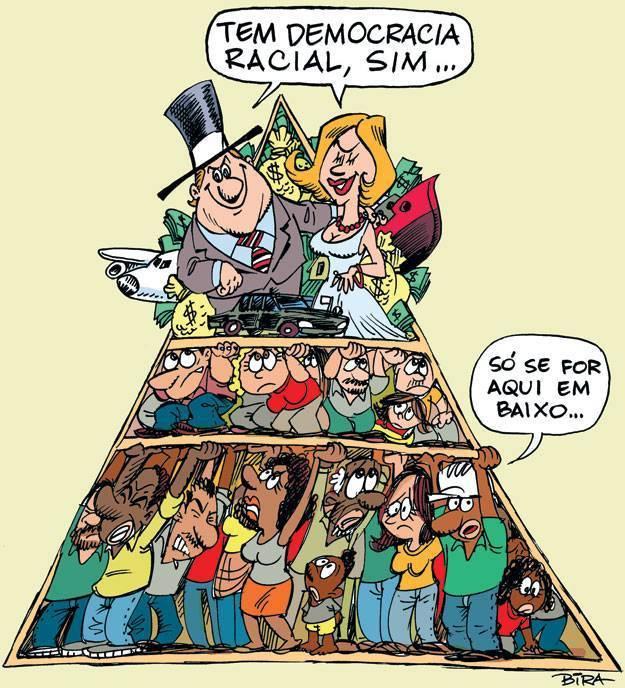 Igualdade no Brasil miscigenado