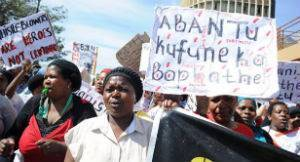 Marcha na Universidade da Cidade do Cabo, África do Sul – Divulgação