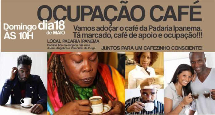 Ocupação Café em Ipanema, pelo emprego de Ivonete Cândida de Oliveira