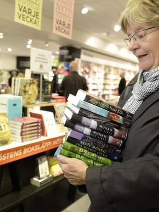 AP Prêmio Nobel aumentou procura por livros de Alice Munro