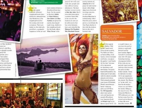 Revista ensina turistas a assediarem brasileiras