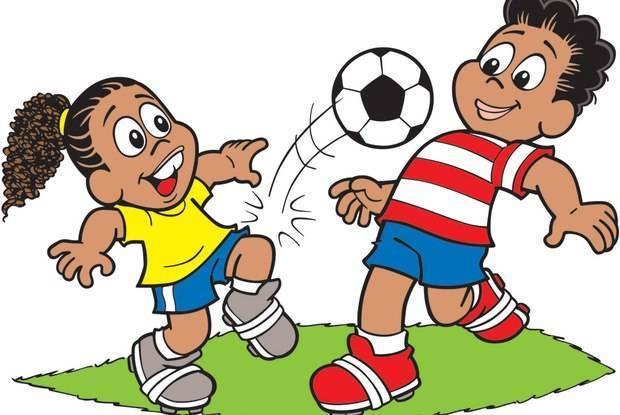 Crianças Que Jogam O Futebol Nos Desenhos Animados Do: Ronaldinho Gaúcho Vira Tema De Desenho Animado