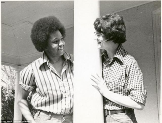 Casal de Germantown em 1977.