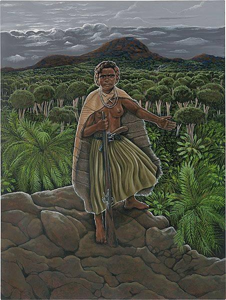 Rainha Mãe Yaa Asantewaa (c. 1840-17 de outubro de 1921) Yaa Asantewaa foi a rainha-mãe da tribo Edweso do Asante (Ashanti), no que é atual Gana. Ela era um lutador excepcionalmente corajoso que em março de 1900, levantou e liderou um exército de milhares contra as forças coloniais britânicas em Gana