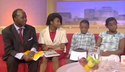 A família mais Inteligente da Inglaterra é Negra
