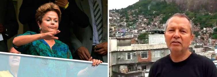 Xaolin da Rocinha critica em artigo vaias à Dilma
