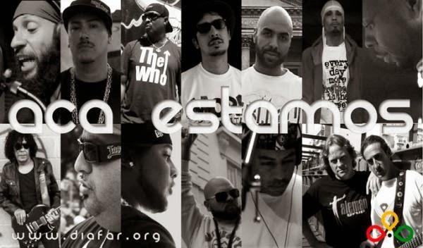 "Chuck D participa da Campanha do ""Rap contra o Racismo na Argentina"""