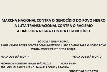 Marcha Nacional contra o Genocídio do Povo Negro