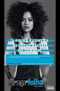 Folha publica vídeo contra cotas raciais e feministas negras criticam campanha