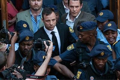 A África do Sul reage à absolvição de Oscar Pistorius
