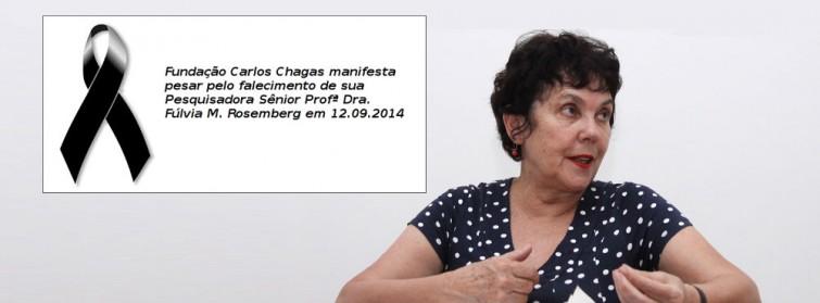 Geledés manifesta pesar pela morte de Fúlvia Rosemberg