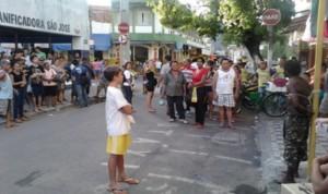 A humilhação pública de Francisco do Nascimento (Foto Raquel Paris)