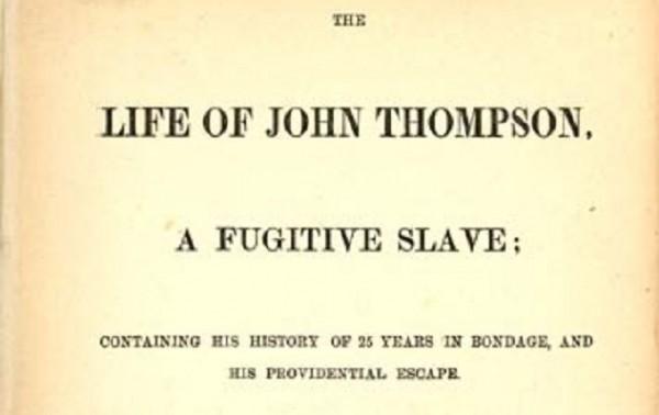 thompson 600x378 Escravos influentes sobre os quais os livros de História não falam