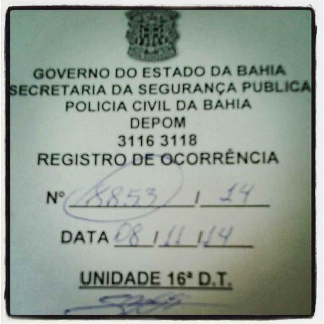 BO Ana Paula Bispo 640x640 Na 'branquíssima' Salvador, mais um caso de racismo em loja de shopping