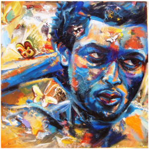 Collin Sekajugo, Kigali, um artista de Ruanda