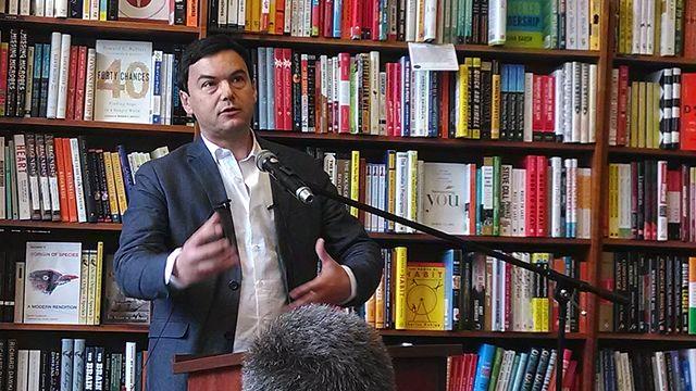 Economista francês, Thomas Piketty vive dia de celebridade na USP