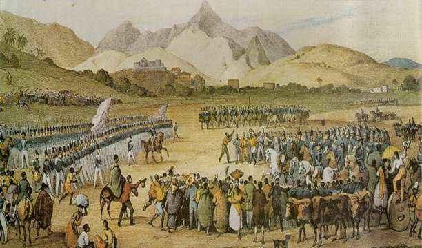 Balaiada, revolta popular ocorrida no Maranhão. Victor Frond, Fabricantes de Jacás. (Domínio público)
