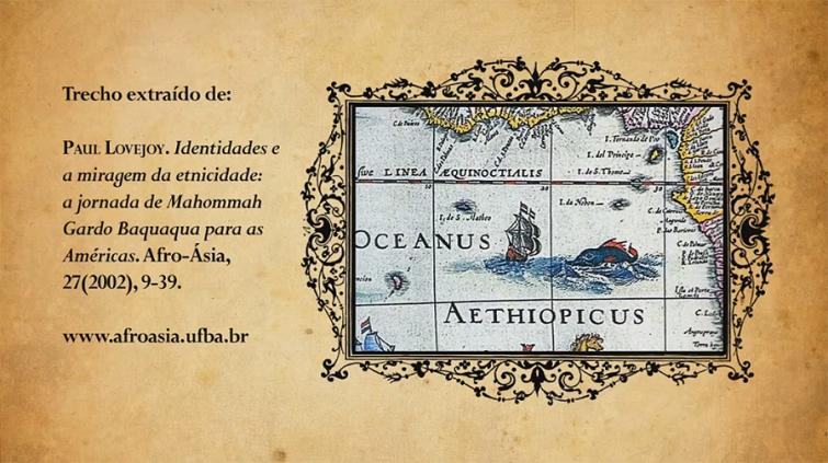 baquaqua tela Único relato autobiográfico de um ex escravo no Brasil será traduzido