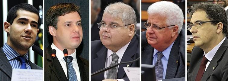Bancada das empreiteiras tem DEM, PSDB, PT, PMDB e PP