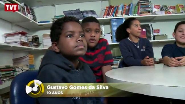 Uma aula de inclusão racial com um menino de 10 anos