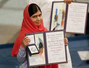 Em Oslo, Malala diz que não desistirá de lutar