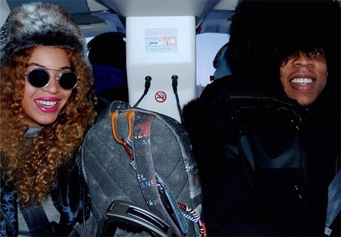 No frio! Beyoncé e Jay Z passam férias na Islândia