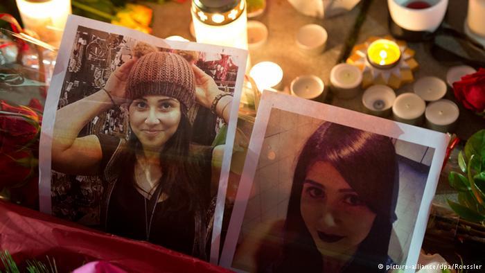 Alemães pedem ordem de mérito a estudante morta após defender adolescentes