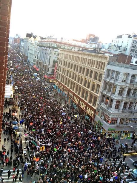 protesto1 Marchas e protestos contra o racismo levam norte americanos às ruas