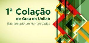 Unilab terá primeira colação de grau
