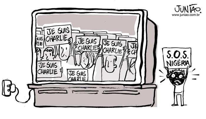 A diferenças entre os atentados na França e na Nigéria