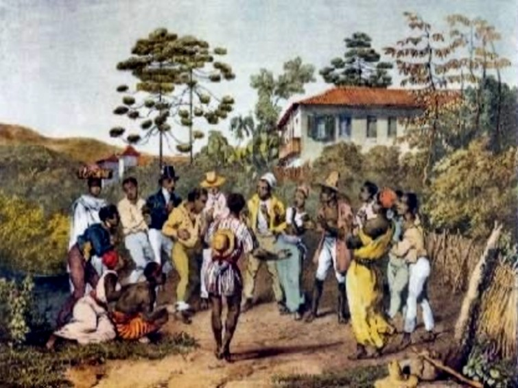 The-Batuque-practiced-in-Brazil-of-the-19th-century-in-a-painting-by-Johann-Moritz-Rugendas