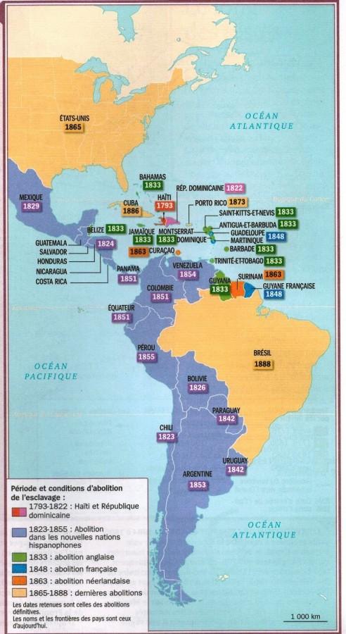 mapa da abolição