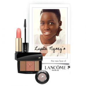 A primeira mulher negra embaixadora da sofisticada marca Lancôme!