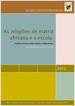 As Religiões de Matriz Africana e a Escola Apostila (1)