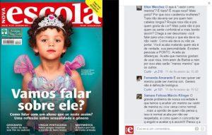 Capa de NOVA ESCOLA sobre gênero tem repercussão recorde