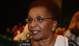 A ex-ministra da Igualdade Racial Luiza Bairros disse que aprendeu muito com Lélia, de quem era amiga Tomaz Silva/Agência Brasil