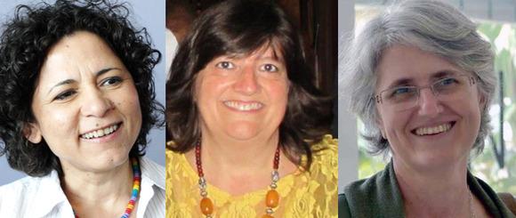 Três mulheres do povo e da luta