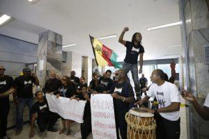 Estudantes protestam por benefícios para população negra em Brasília