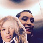 Com máscara de Beyoncé, Taís Araújo elogia boa forma da cantora