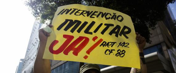 Como explicar pra minha filha pequena homens defendendo ditadura?