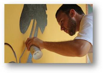 Alexandre Keto participa da 3ª Bienal Internacional Graffiti Fine Art