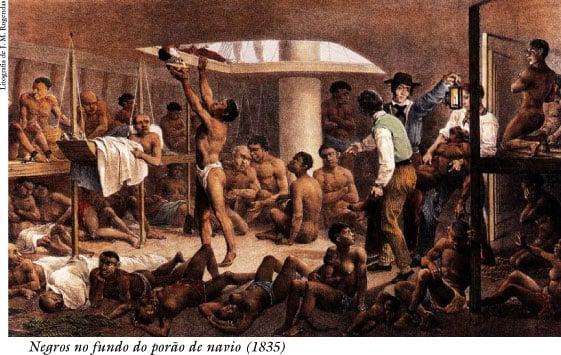 escravidão navios
