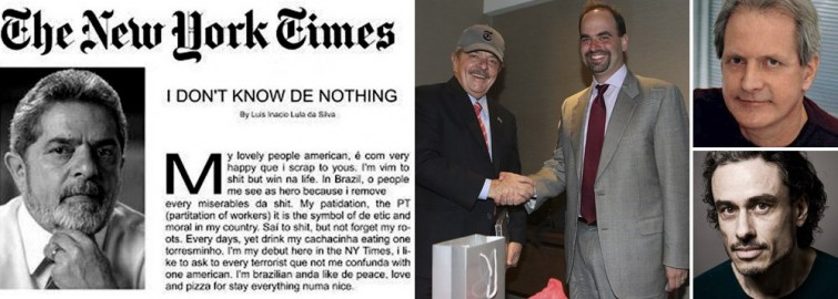 Lula no NYT desperta onda de inveja e preconceito