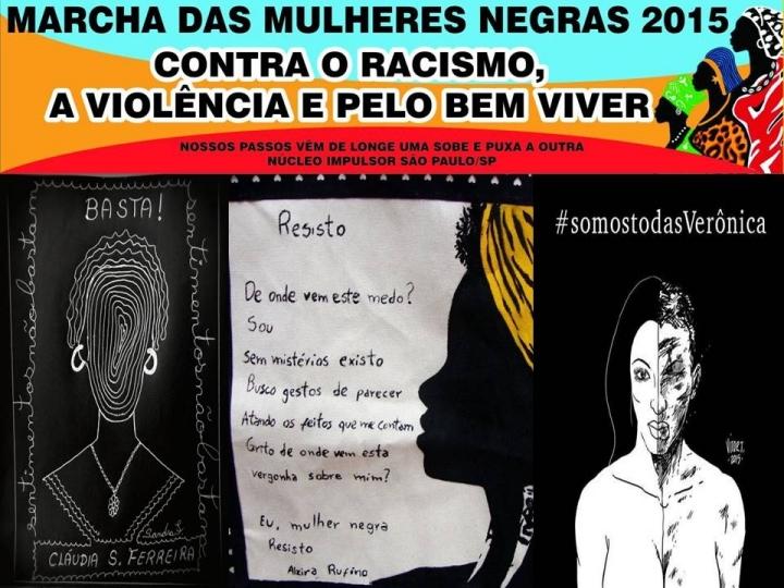 Mulheres Negras contra o racismo, a violência policial e a redução da maioridade penal