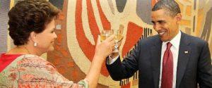 Dilma fará visita de trabalho a Obama em 30 de junho